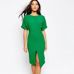 ASOS Wiggle Dress with Split Front - US 4
